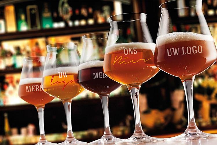 Beers&Brands - bedrukte bierglazen